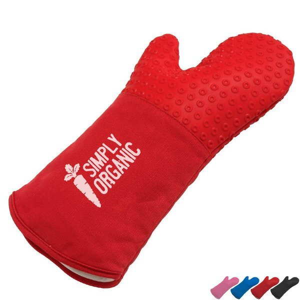 Cool Silicone Oven Mitt