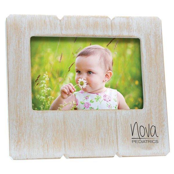 "Distressed Wood Frame, 6"" x 4"""