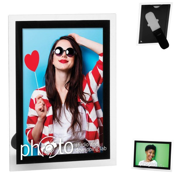 "Magnetic Promo Photo Frame, 4"" x 6"""