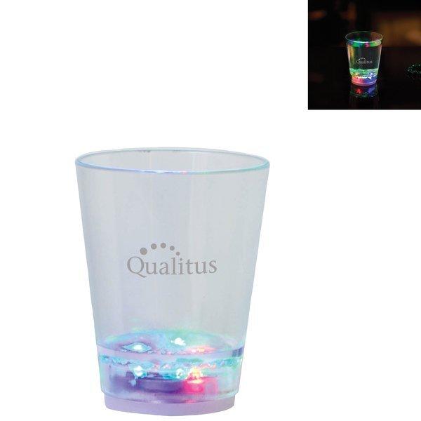 Light Up Plastic Shot Glass, 2oz.