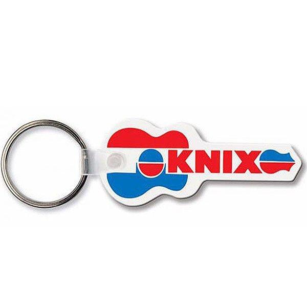 Guitar Soft Vinyl Key Tag