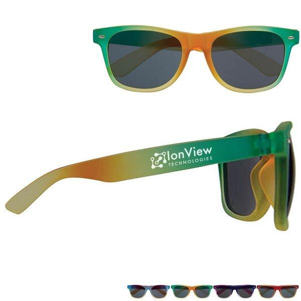 Soft Feel Color Blend Sunglasses