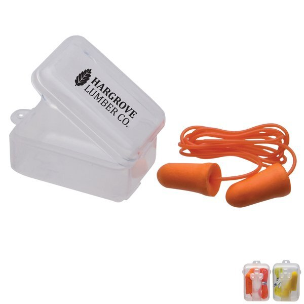 Corded Foam Earplugs w/Case