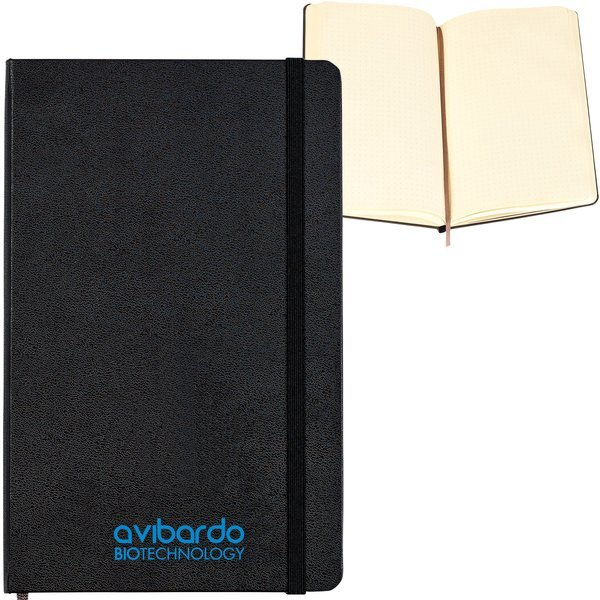 "Moleskine® Hard Cover Large Dotted Notebook, 5"" x 8-1/4"""