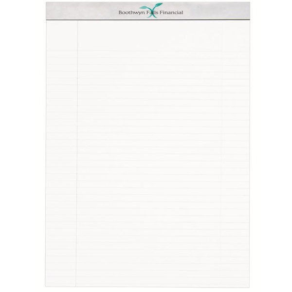 """Econo Legal Pad w/ Full Color Imprint, 8-1/2"""" x 11-3/4"""""""