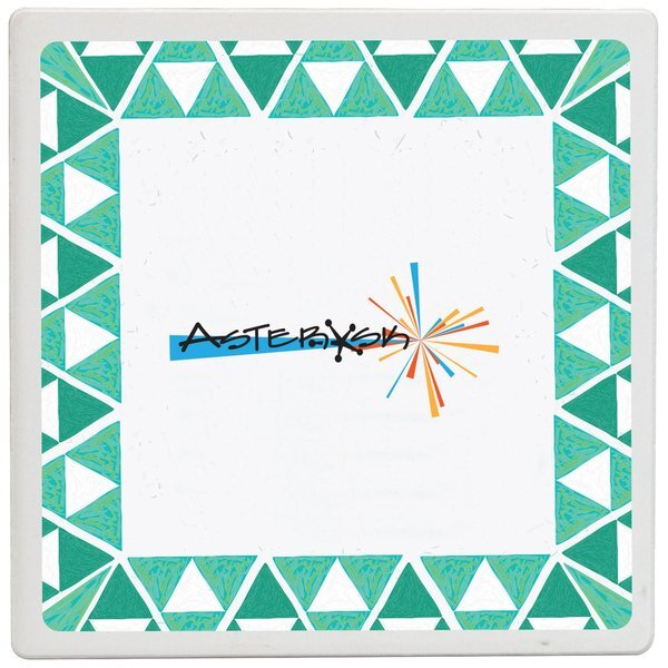 Absorbing Stone Coaster, Full Color Imprint