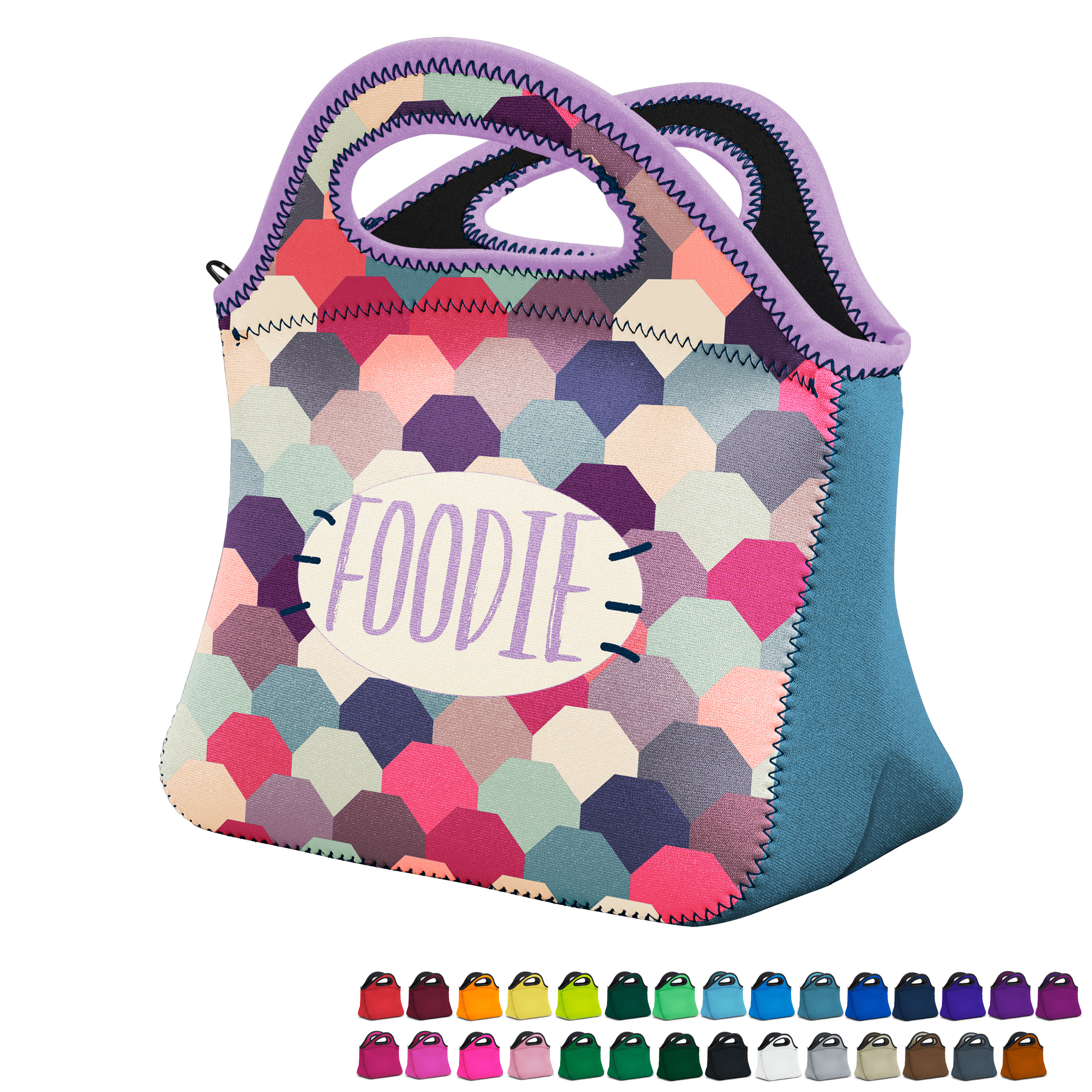 Klutch Neoprene Lunch Bag with Full Color Imprint