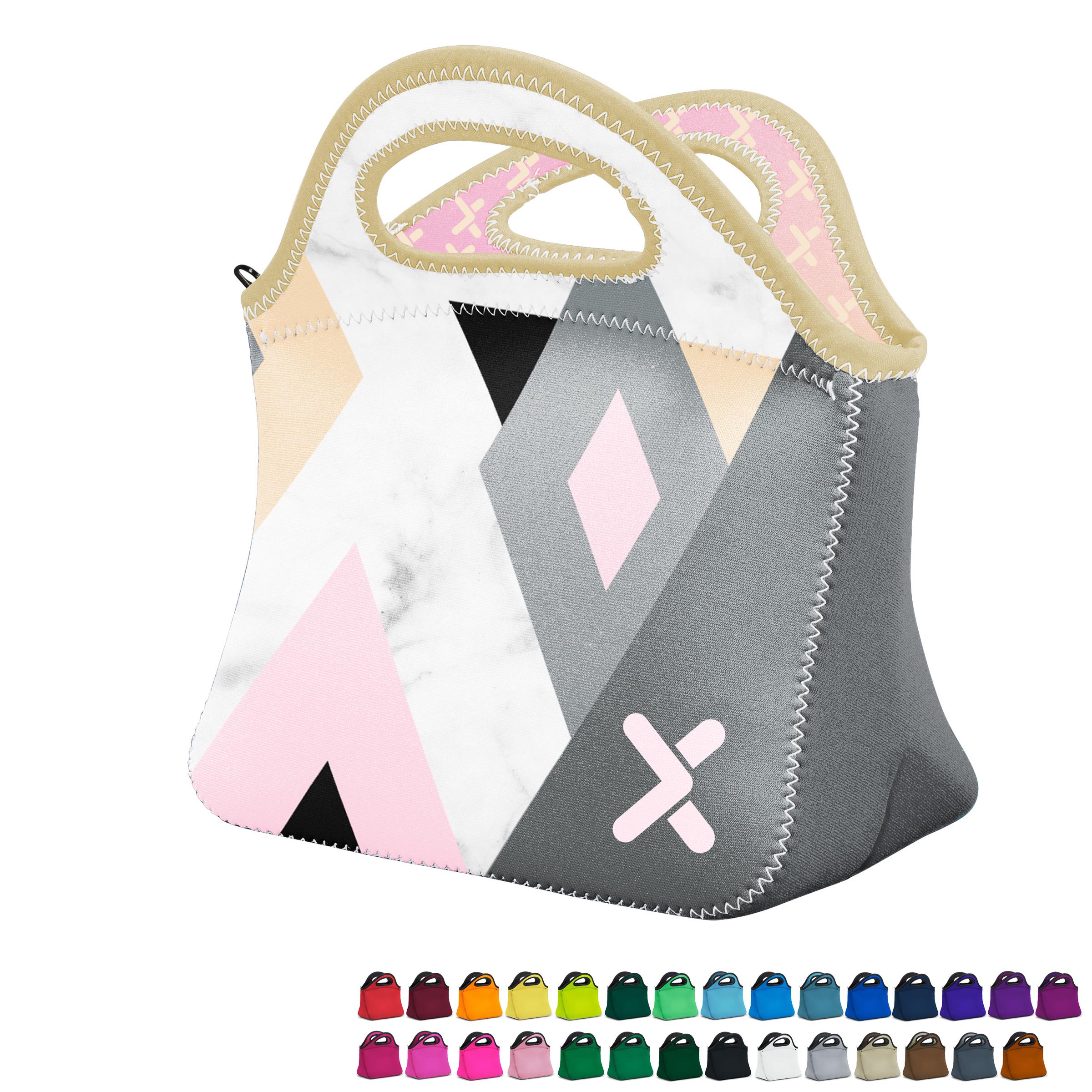 Klutch Duplex Neoprene Lunch Bag with Full Color Imprint