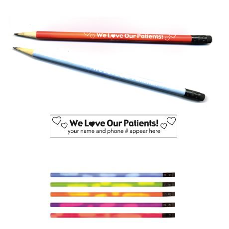"Mood Pencil, ""We Love Our Patients"""