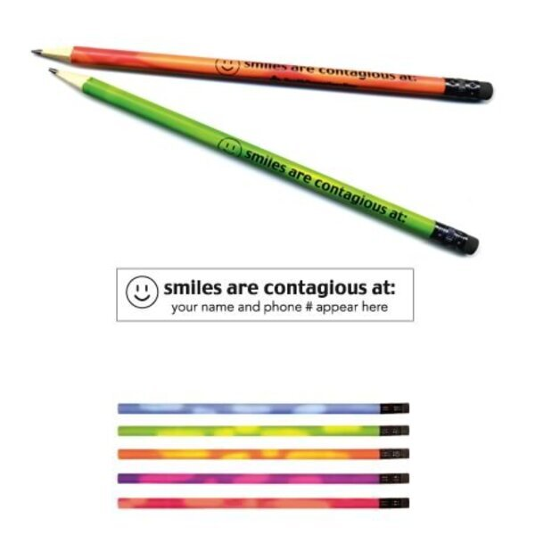 "Mood Pencil, ""Smiles are contagious at..."""