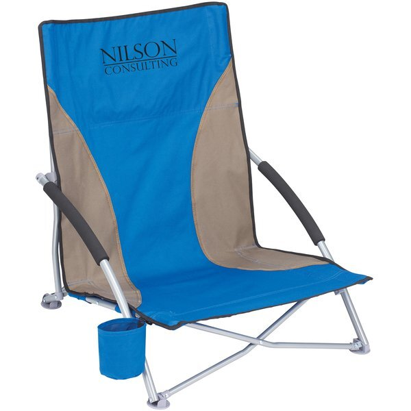 Low Sling PolyCanvas Beach Chair