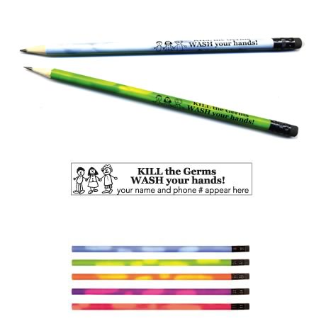 "Mood Pencil, ""KILL the Germs..."""