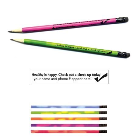 "Mood Pencil, ""Healthy is Happy..."""