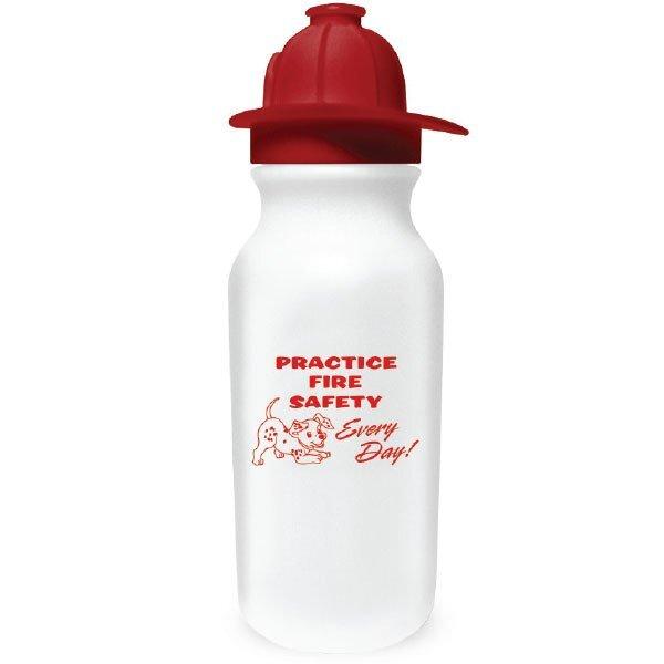 Fireman Helmet Sport Bottle, 20oz., Stock