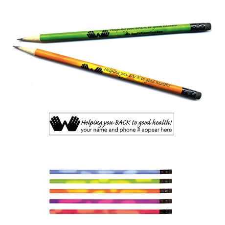 "Mood Pencil,  ""Helping you Back..."""