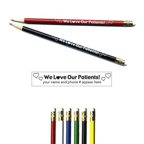 "Pricebuster Pencil - ""We Love Our Patients"""