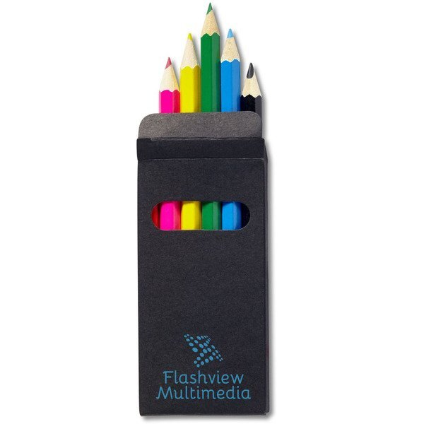 Colored Pencil Six-Piece Set in Black Box