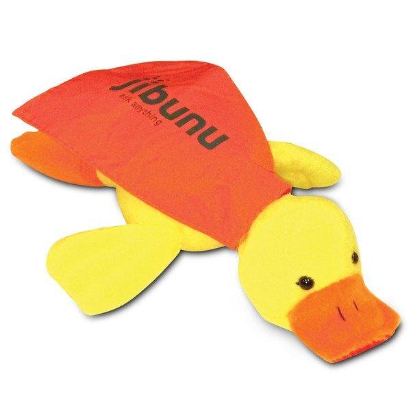 Flying Quacking Plush Duck