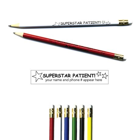 "Pricebuster Pencil - ""Superstar Patient!"""