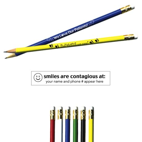 "Pricebuster Pencil -  ""Smiles are contagious at..."""