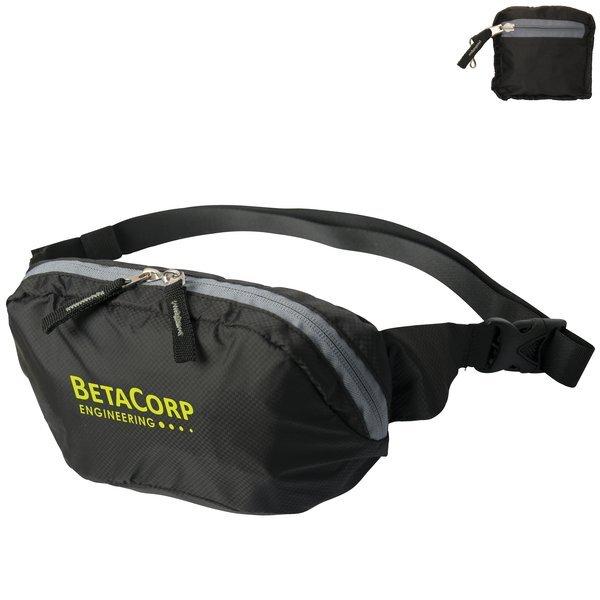 Riphip Foldable Nylon Waist Pack