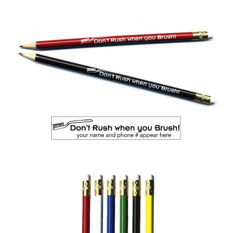 Pricebuster Pencil - Don't Rush...