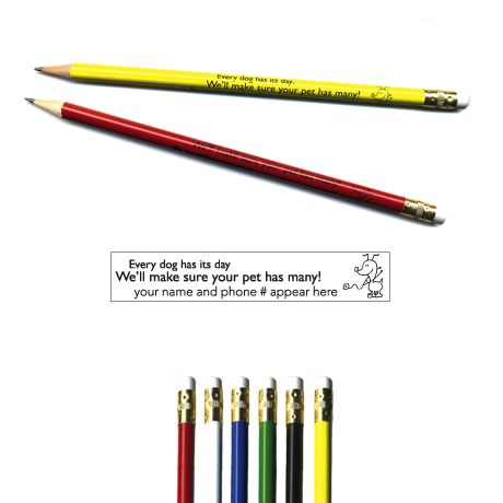 "Pricebuster Pencil - ""Every dog has its day."""