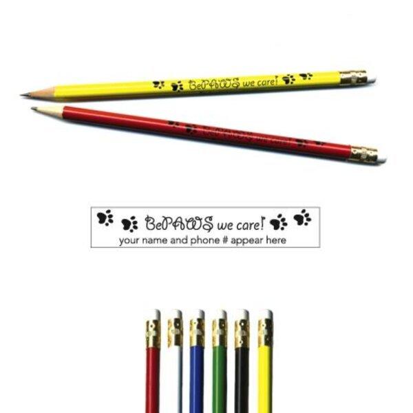 "Pricebuster Pencil -  ""BePaws we care!"""