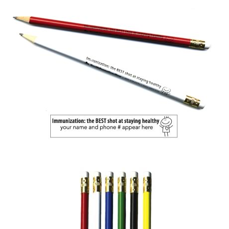 "Pricebuster Pencil - ""Immunization"""
