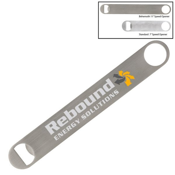 Behemoth Stainless Steel Bottle Opener
