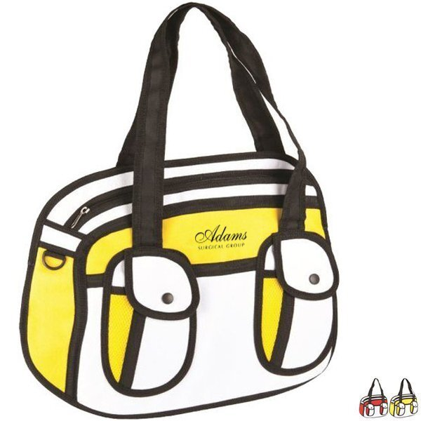 Animation Polyester Messenger Bag