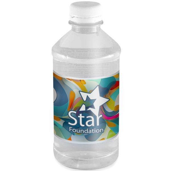 Bottled Spring Water w/ Full Color Imprint, 12oz.