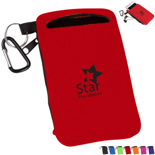 Active Neoprene Mobile Phone Holder & Wallet