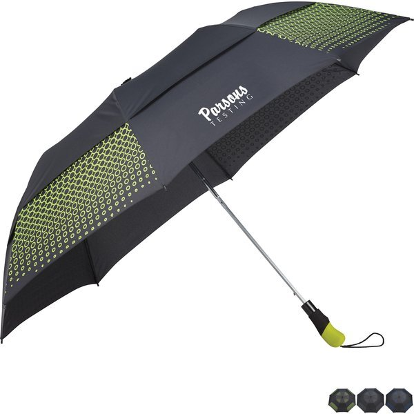 "Slazenger™ Vented Auto Open Folding Golf Umbrella, 58"" Arc"
