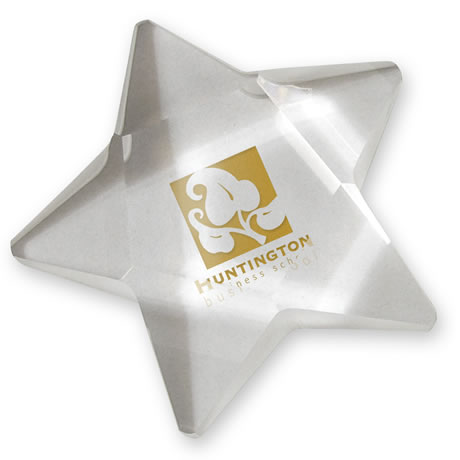 Crystal Star Paperweight