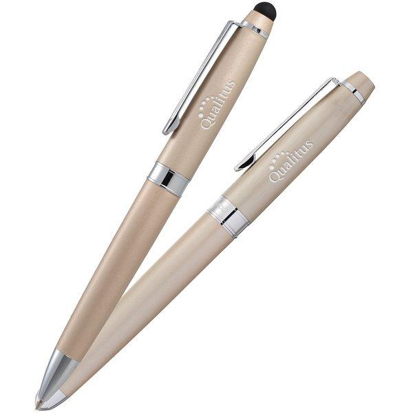 Cutter & Buck® Owen Rollerball & Ballpoint Stylus Pen Set