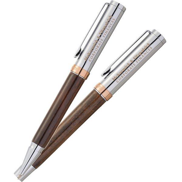Cutter & Buck® Atticus Rollerball & Ballpoint Pen Set
