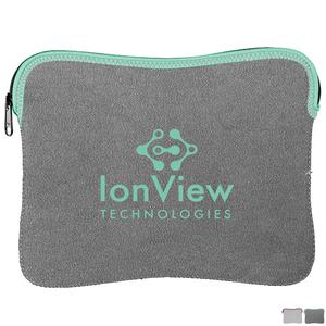 Heathered Jersey Knit Neoprene iPad® Sleeve