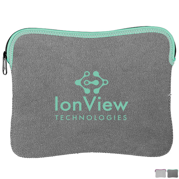 Heathered Jersey Knit Neoprene iPad® Sleeve