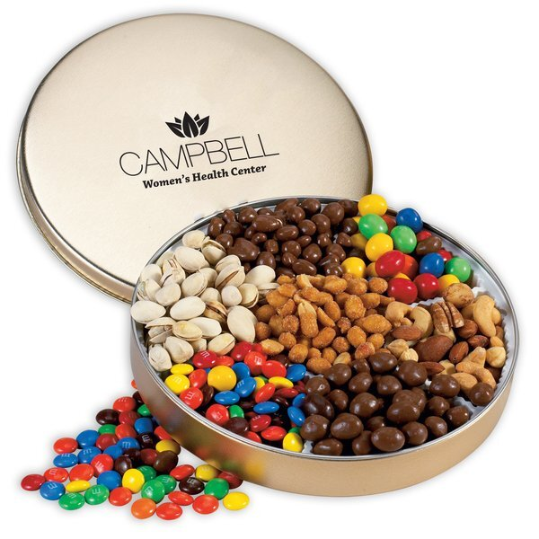 Seven Way Nut Lover's Tin, Small