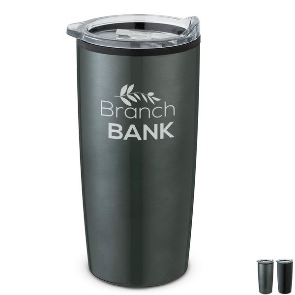 Backroads Double Wall Stainless Steel Tumbler, 17oz.