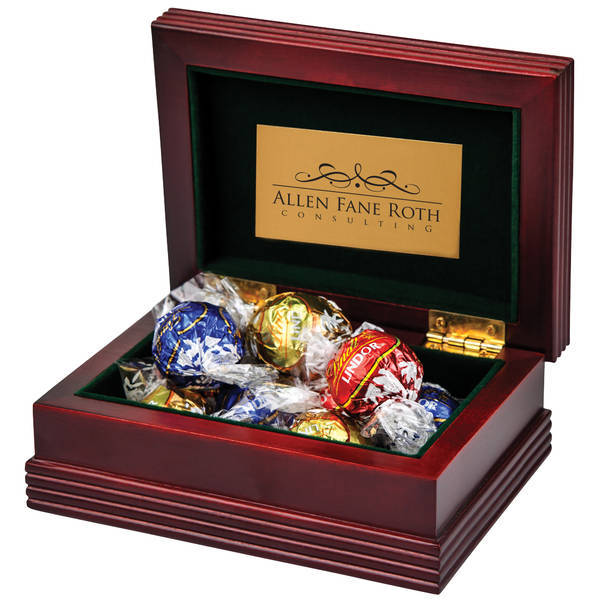 Executive Wood Box w/ Lindt® Chocolate Truffles