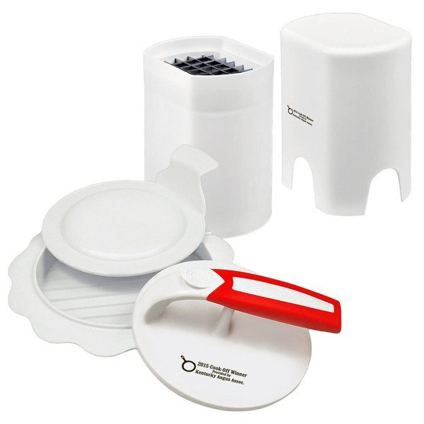 Burger Press & French Fry Slicer Gift Set