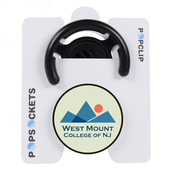 PopSocket® Mobile Device Stand & Mount Combo w/ Full Color Imprint