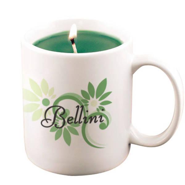 Ceramic Mug Candle, 11oz.