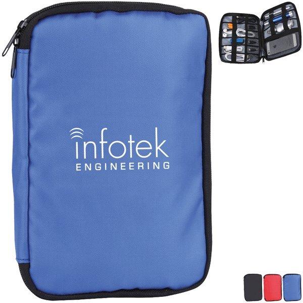Gadget Wallet w/ Elastic Loops and Pockets