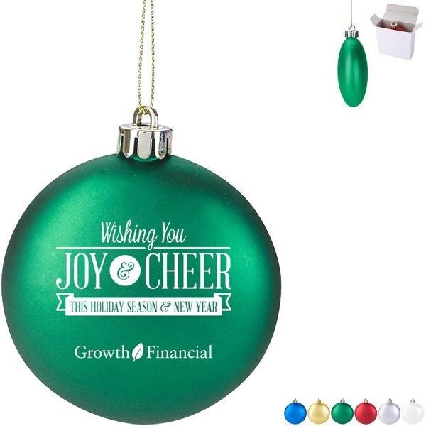 Holiday Shatter-Resistant Ornament