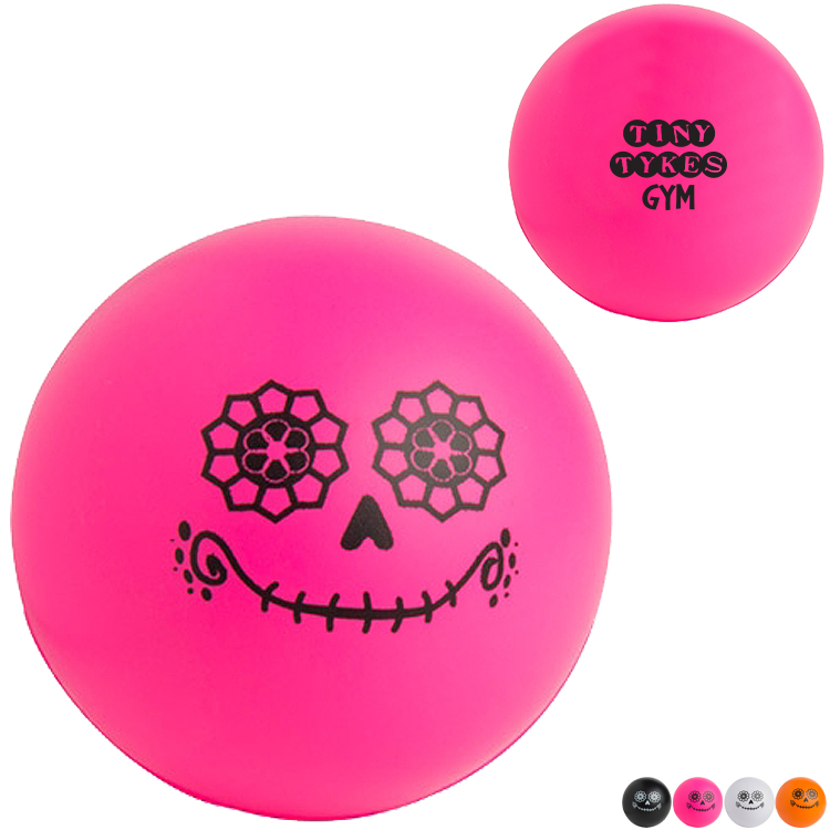Day of the Dead Stress Reliever Ball
