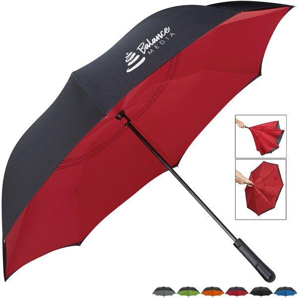 """Inversion Contrasting Umbrella, 48"""" Arc"""