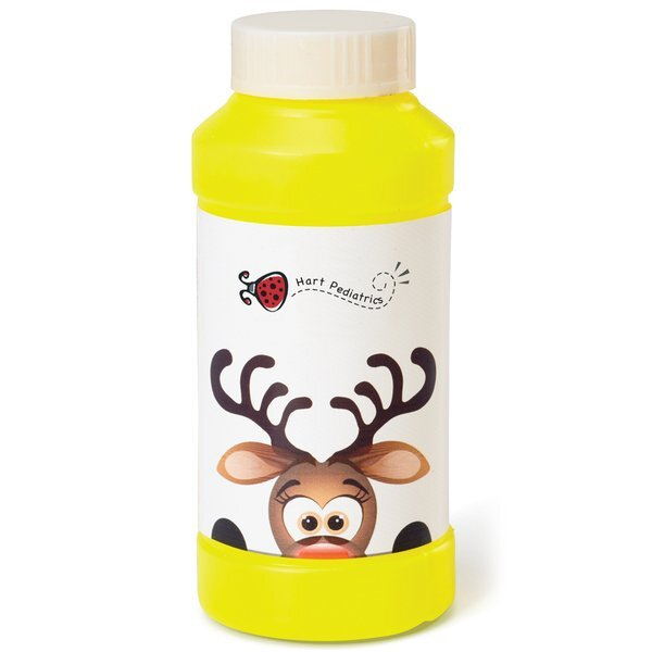 Holiday Winter Theme Reindeer Bubbles, 4oz.